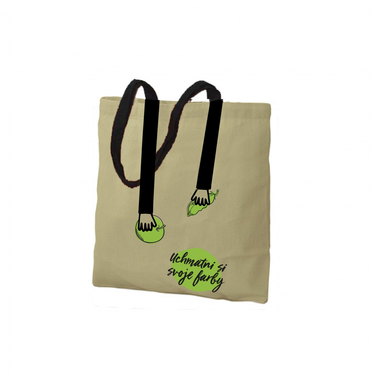 MILETIČKA - VISUALIZATION - TOTE BAG - HANDS